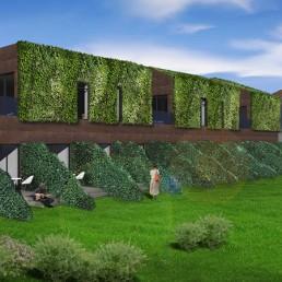 Eco Green Hotel - 3D Exterior