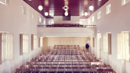 Salão Paroquial do Juncal - Interior