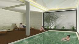 Essence Inn Marianos - 3D Piscina Interior