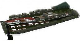 NML Projetos privados: West Inn Lourinhã Hotel & Villas - 3D Perspetiva geral