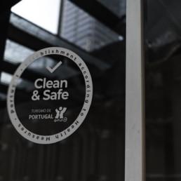 Selo Clean & Safe COVID-19 Turismo de Portugal - NML Turismo - Consultoria e Marketing para o Turismo